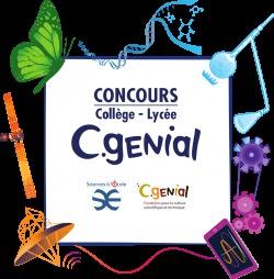 Ouverture des inscriptions au concours CGénial lycée 2019