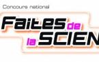 """12ème édition du concours """"Faites de la science"""""""