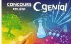 Ouverture des inscriptions au concours CGénial-collège 2019