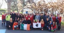 La rencontre tant attendue entre de bons amis…corse et irlandais !