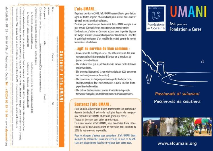 """Rencontres """"Tradilingue"""" avec l'A.F.C - Umani (2°4/2°2 LCC)"""