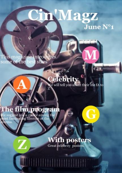 """""""Cinémag"""" et """"Cin'Magz"""" : Magazines numériques créés par des élèves de 3ème"""