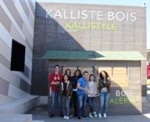"""Visite de l'entreprise """"Corstyrène, Kallisté Bois"""" (T°S)"""