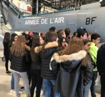 "Visite de la Base Aérienne 126 ""Capitaine Préziosi"" Ventiseri-Solenzara (1°STMG)"
