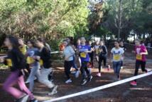 Championnat d'académie UNSS de cross-country à Pinia