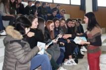"""Le livre """"La Perle"""" de John Steinbeck traduit en Corse par des lycéens (1ères LCC)"""