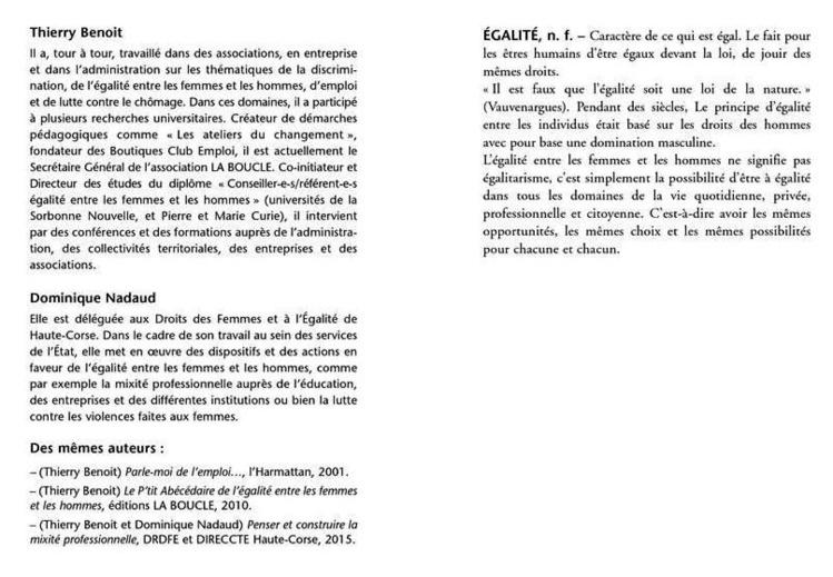 """Action éducative """"Métiers & Mixité"""" (2ndes)"""