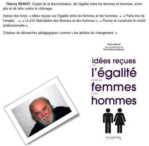 """Action éducative """"Idées reçues sur l'égalité entre les femmes et les hommes"""" (4èmes)"""