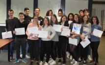 """""""34èmes Olympiades Académiques de Chimie 2018"""" (2 lauréats au Lycée du Fium'Orbu)"""