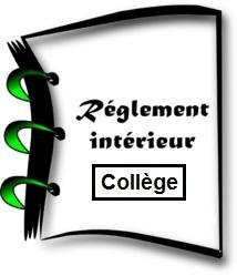 Règlement intérieur du Collège