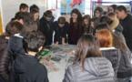 """""""26ème Semaine de la Presse et des Médias dans l'école"""" au CDI du Collège (4èmes)"""