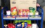"""Collecte alimentaire au collège pour """"Aiutu Studientinu"""" (association d'aide aux étudiants)"""