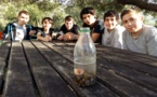 """Participation aux """"Journées de l'Institut Scientifique"""" à Cargèse (6 élèves de 3ème de l'atelier scientifique)"""