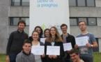 """Trophées Scientifiques de Corse : Prix de la """"Vidéo Scientifique"""" pour 6 èlèves de T°S et 2 élèves de T°S2"""