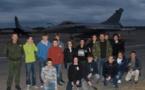 Visite de la Base Aérienne 126 (18 élèves du BIA)