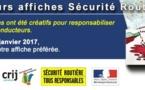 """Concours """"Affiches Sécurité Routière"""" : Votez pour votre affiche préférée !!"""