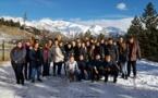 """Stage """"Ski-Étude"""" à la station de sports d'hiver d'Auron (classe de 2°3)"""