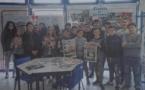 """""""28ème Semaine de la Presse et des Médias dans l'école"""" au CDI du Collège (5°B)"""