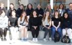 """Visite de """"14 Lycéens Danois"""" à la Cité Scolaire du Fium'Orbu"""