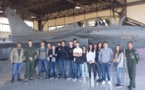 Visite de la Base Aérienne 126 (élèves du BIA)