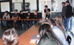 """Présentation de la filière """"STI2D"""" (par 3 anciens élèves du lycée)"""