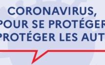CORONAVIRUS: Les gestes barrières