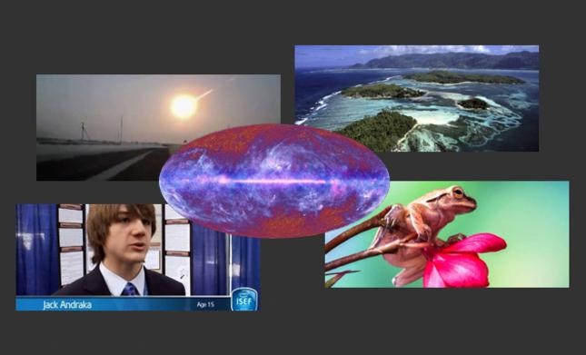 5 articles sur les dernières avancées scientifiques