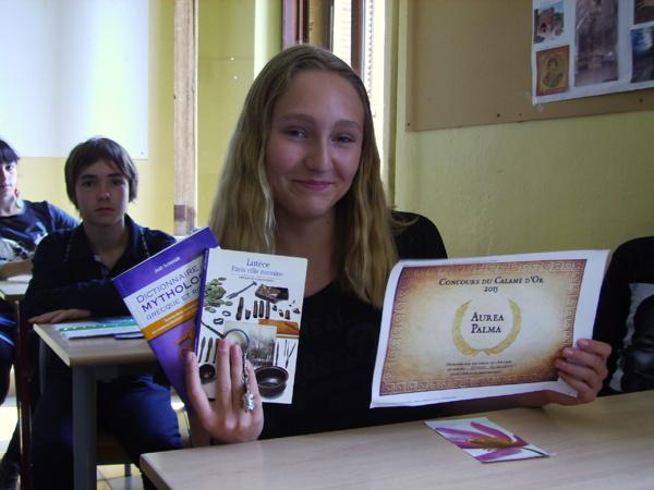 Concours de latin : le calame d'or