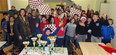 5eme tournoi d'échecs organisé au sein du Collège Fesch