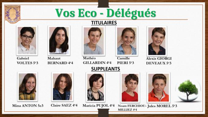 Les Ecos-Délégués du Collège Fesch