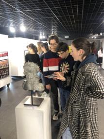 Exposition conçue par les lycéens de la filière Histoire des Arts du Lycée Fesch