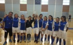 Les princesses en finale du championnat de France de football