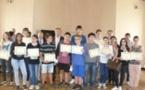 Remise des prix des Olympiades de mathématiques au rectorat de Corse