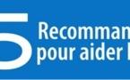 25 recommandations pour aider les parents