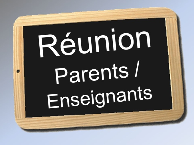 Rencontre Parents Enseignants