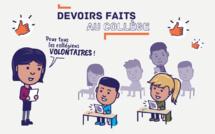 Dispositif « DEVOIRS FAITS »
