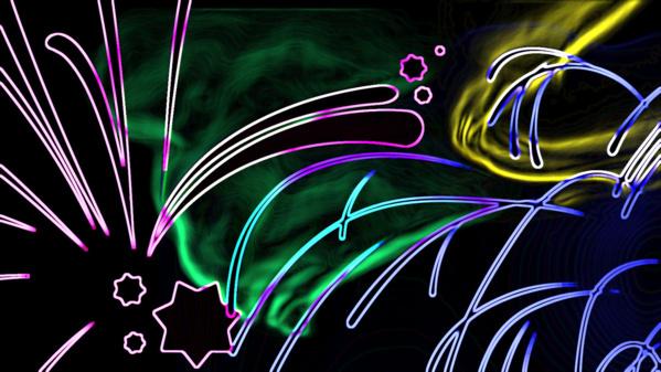 Fonds d'écran et créations abstraites.