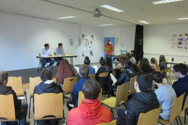 Des élèves de 4e rencontrent des Japonais vivant à Ajaccio