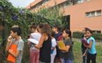 Le collège : terrain d'étude en plein air pour les élèves de 6°