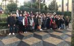 Les délégués des élèves du collège Arthur Giovoni en visite à la Collectivité de Corse