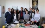 Le collège Arthur Giovoni présente ses dispositifs d'inclusion scolaire à Madame la Rectrice