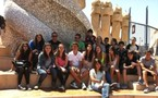 Les élèves de la troisième méditerranéenne à Barcelone