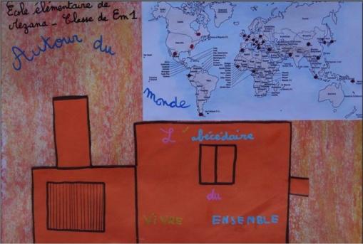 Exposition de productions d'élèves: actions citoyennes