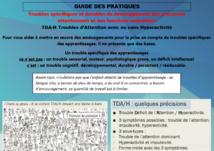 Troubles spécifiques des apprentissages / troubles DYS