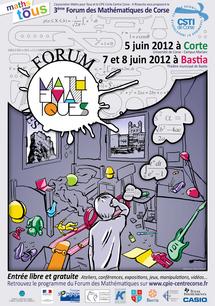 FORUM DES MATHEMATiQUES - EDITION 2012