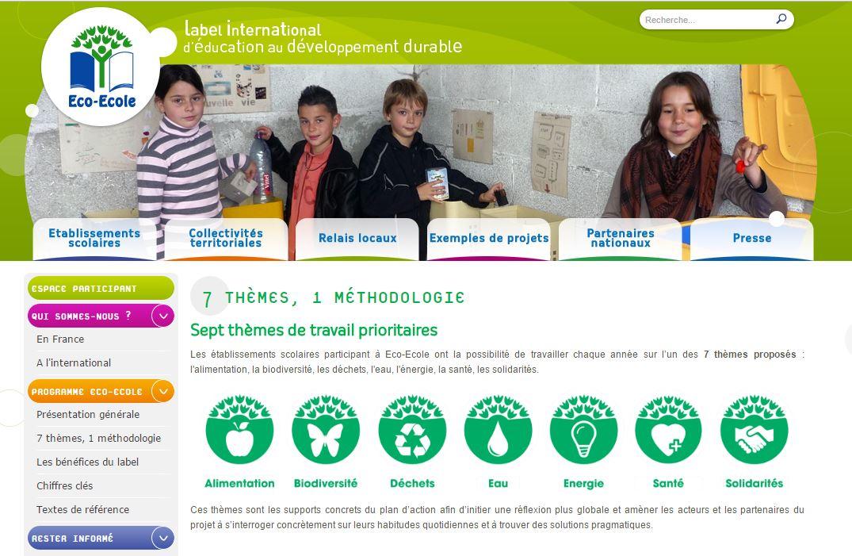 """Le lycée Jean Nicoli inscrit pour la labellisation """"éco-école""""."""