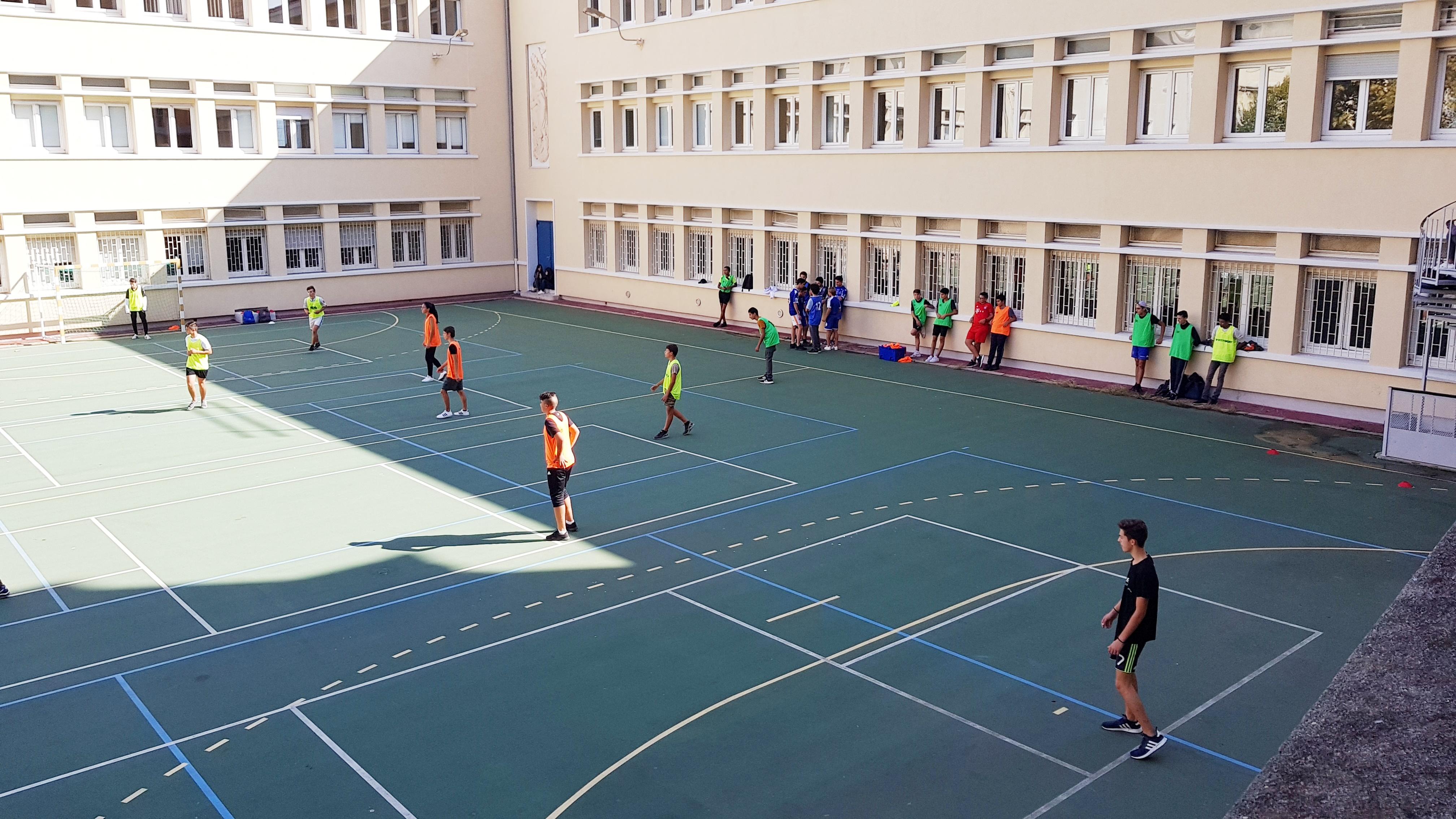 Mardi 26 septembre : journée du sport scolaire au Lycée Jean Nicoli