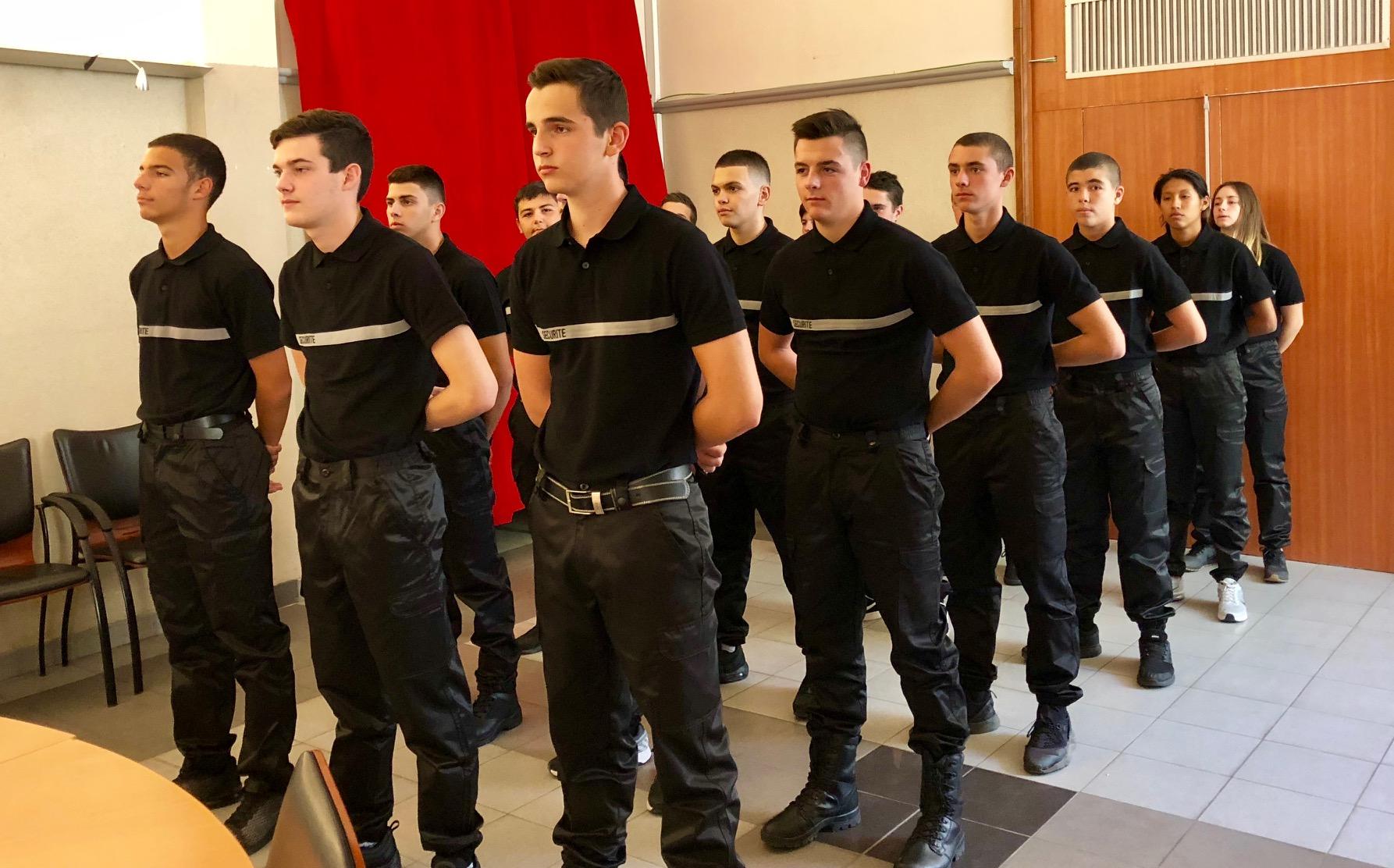 Procédure de recrutement baccalauréat professionnel Métiers de la Sécurité