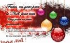 """Projet """" Noël Pour Tous """" réalisé par la classe 1BPCO"""