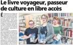 """Le concept du """"livre voyageur"""", initié par la Bibliothèque de Bastia et le lycée Jean Nicoli, dans la presse"""
